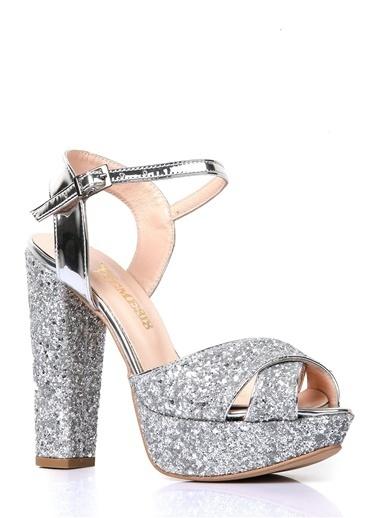 Nemesis Shoes Sandalet Gümüş